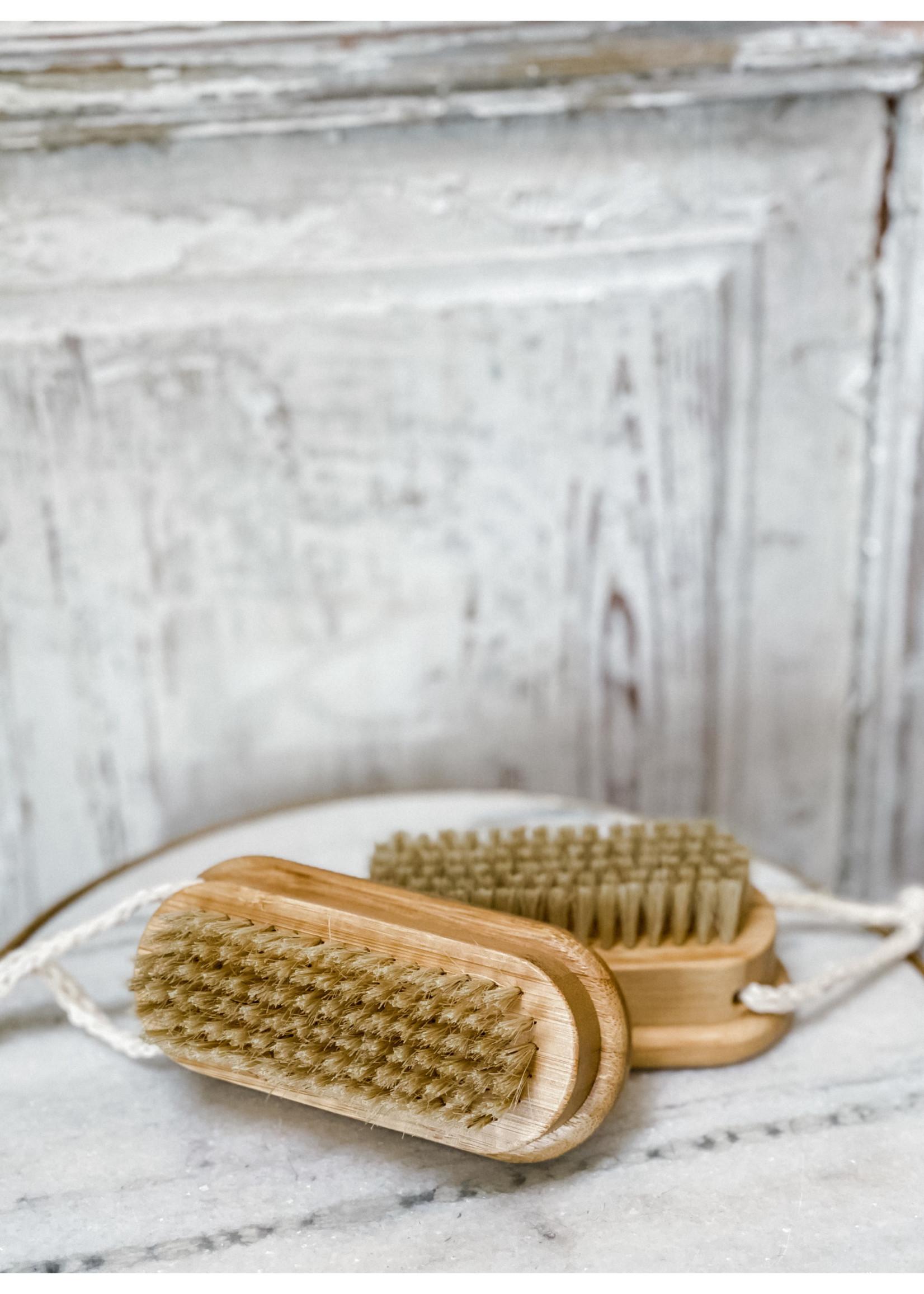Bath Brush - Bamboo Nail Brush