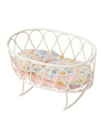 Maileg Cradle with Sleeping Bag - Off White