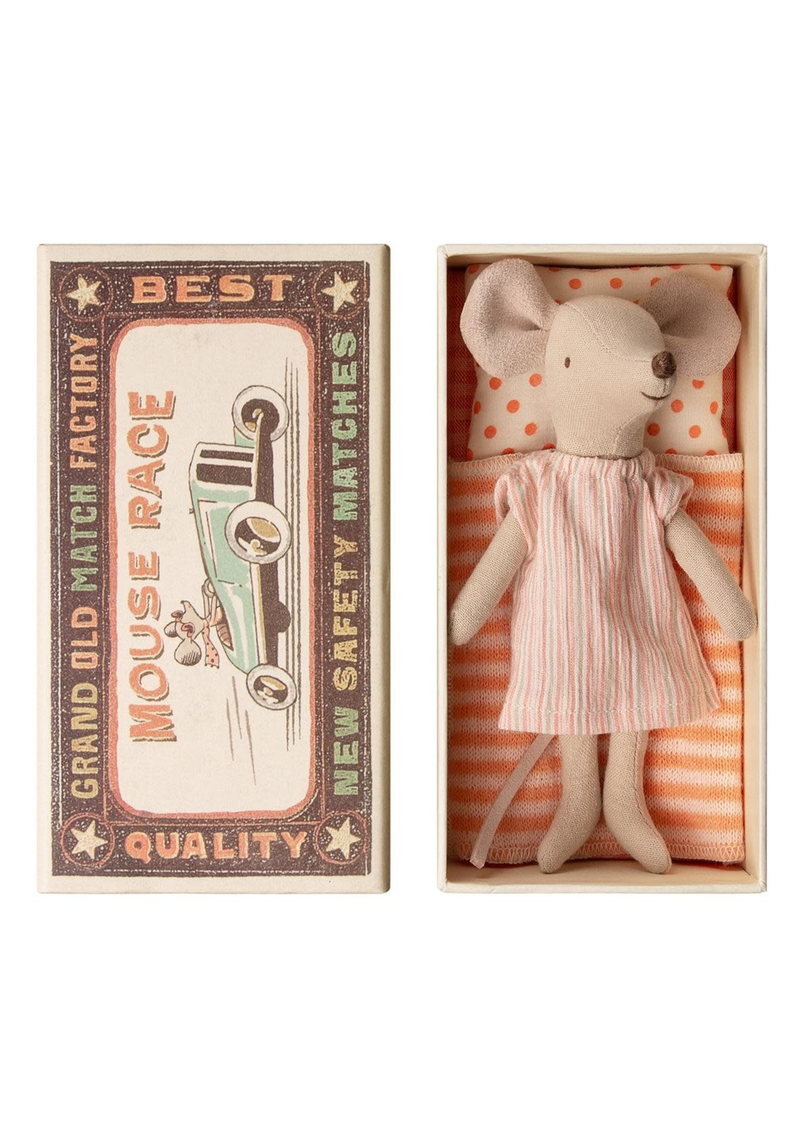 Maileg Big Sister Mouse - Matchbox