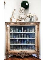 Antique French Corner Cabinet