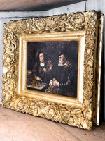 Antique Antique Old Masters Oil Painting