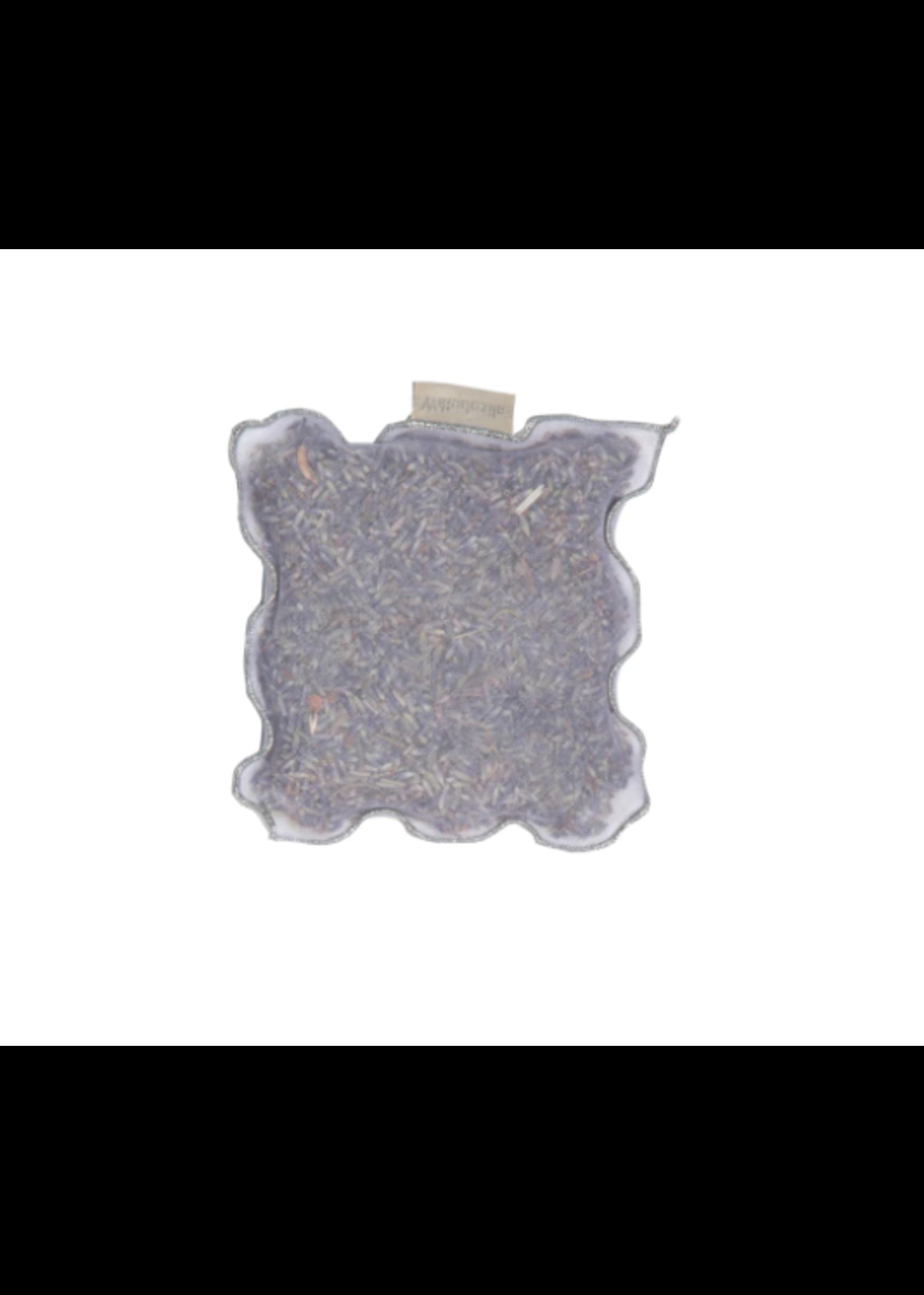 Elizabeth W Lavender Sachet - Silver Edge