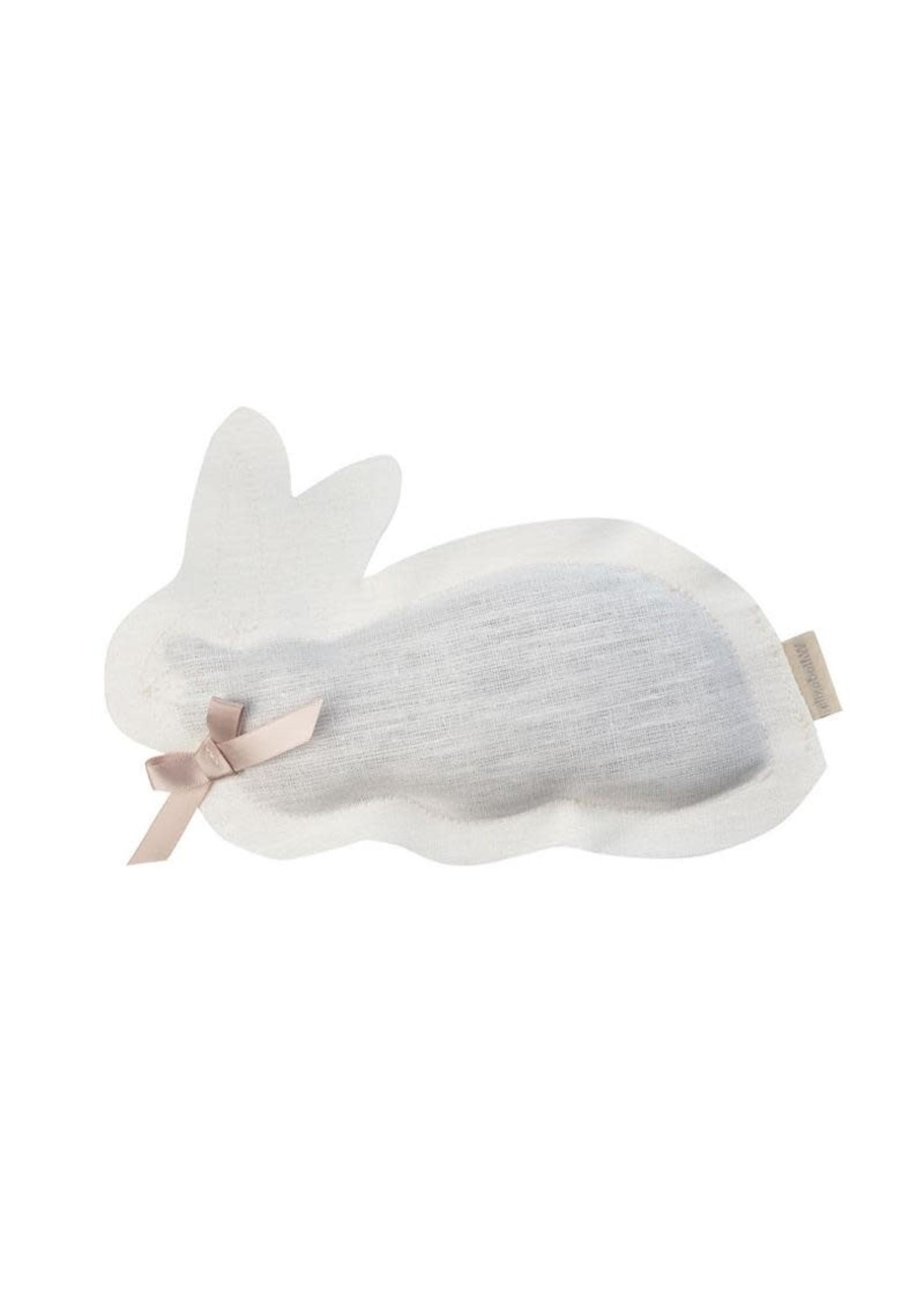 Elizabeth W Bunny Lavender Sachet - Ivory