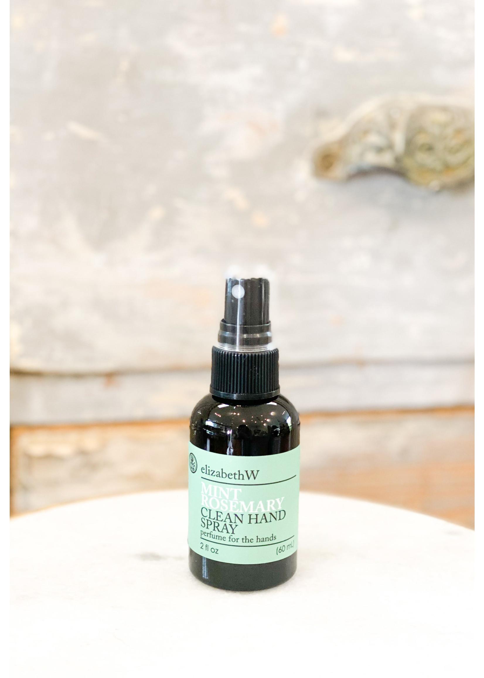 Elizabeth W Clean Hand Spray - Mint & Rosemary
