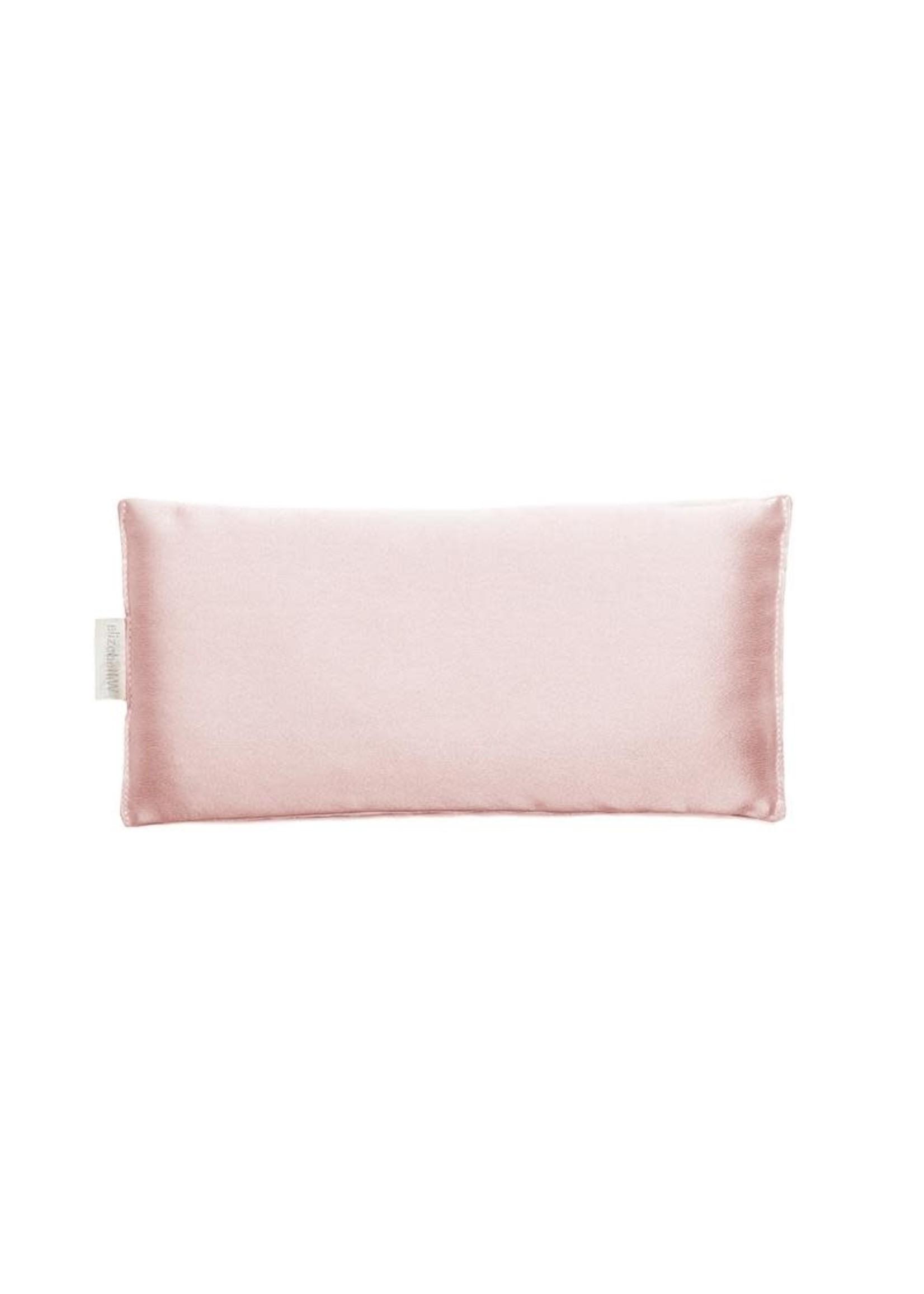 Elizabeth W Silk Eye Pillow - Pink