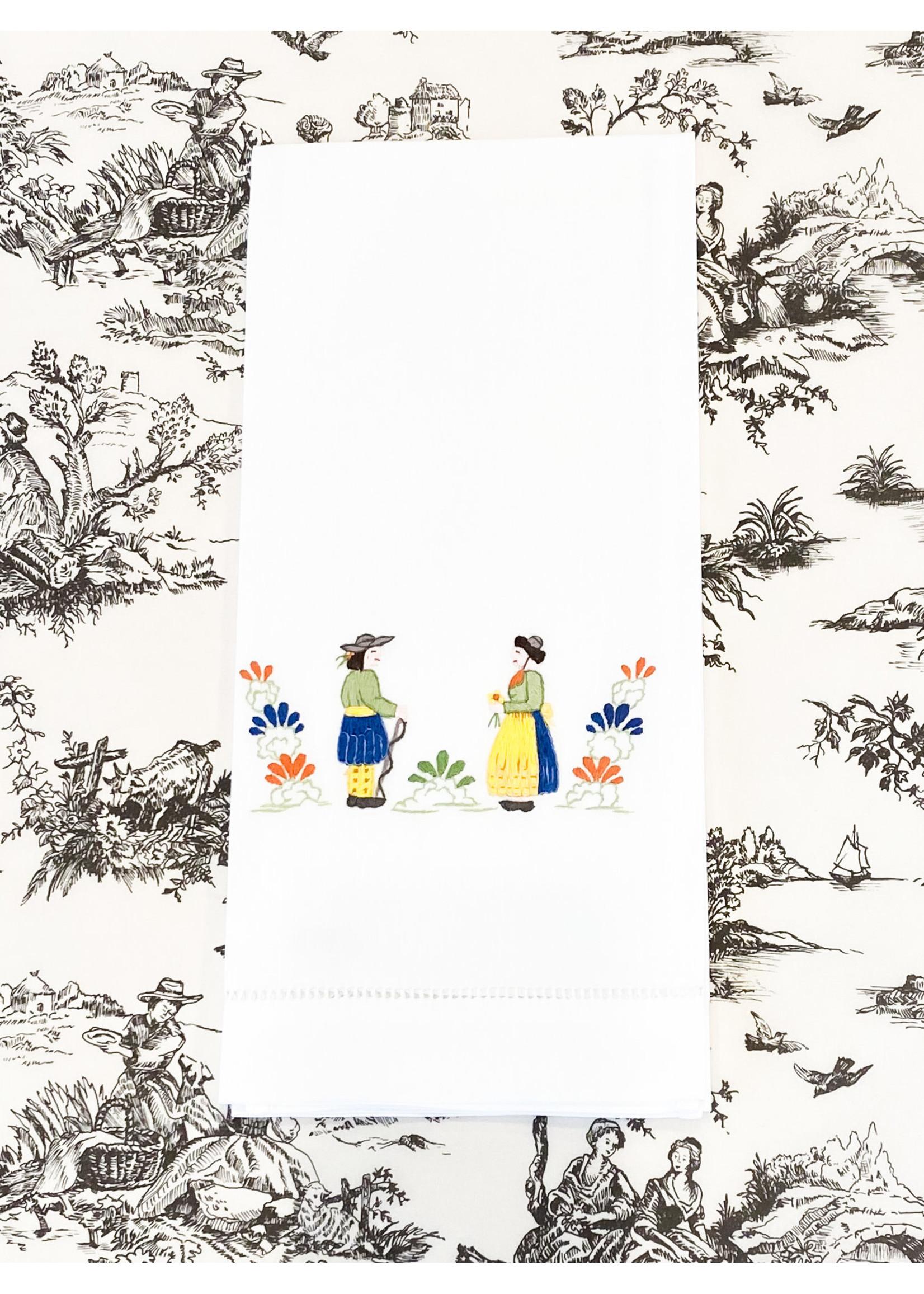 Henry Handwork Towel - Quimper