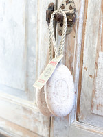 220g Exfoliating Soap on a Rope - Wheat