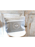 Crown Linen Essential Bag - Bumble Bee - Taupe