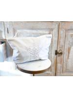Crown Linen On The Go Bag - Victorian - Velvet Cream Large
