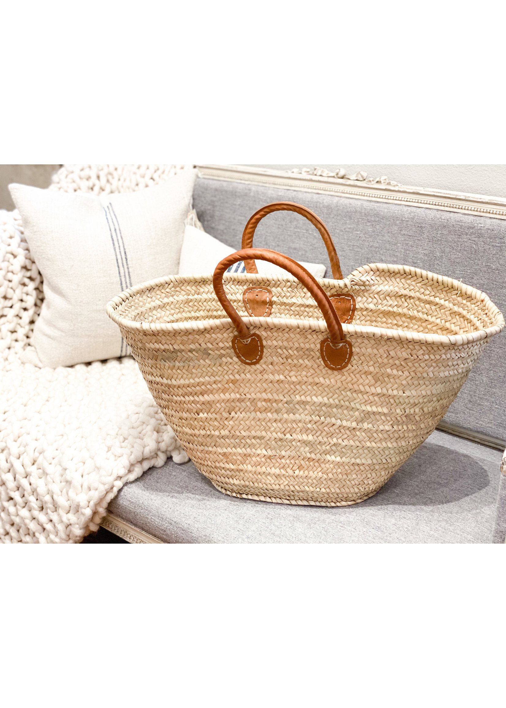 French Market Tote - Palermo Basket