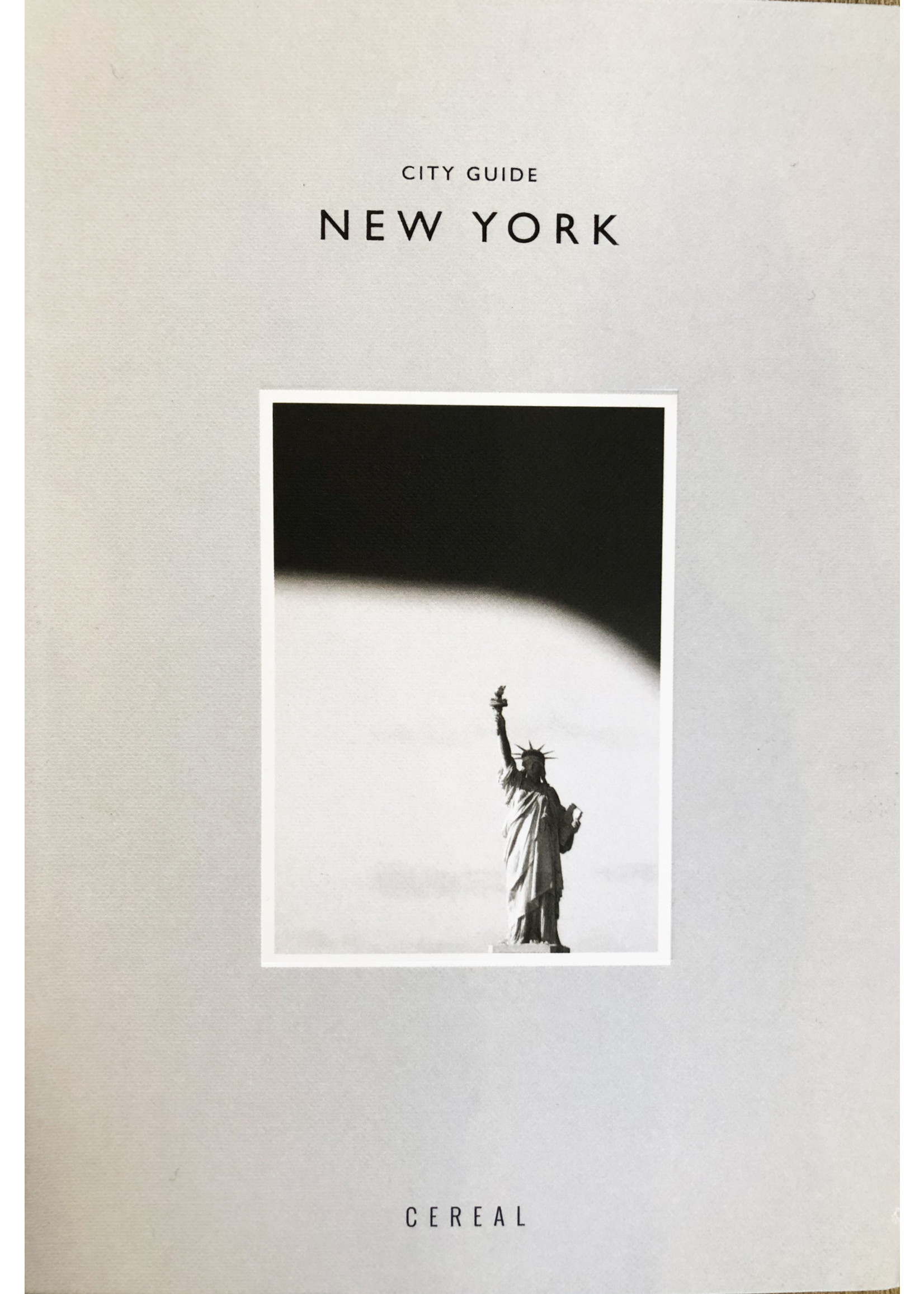 Book - Cereal - New York