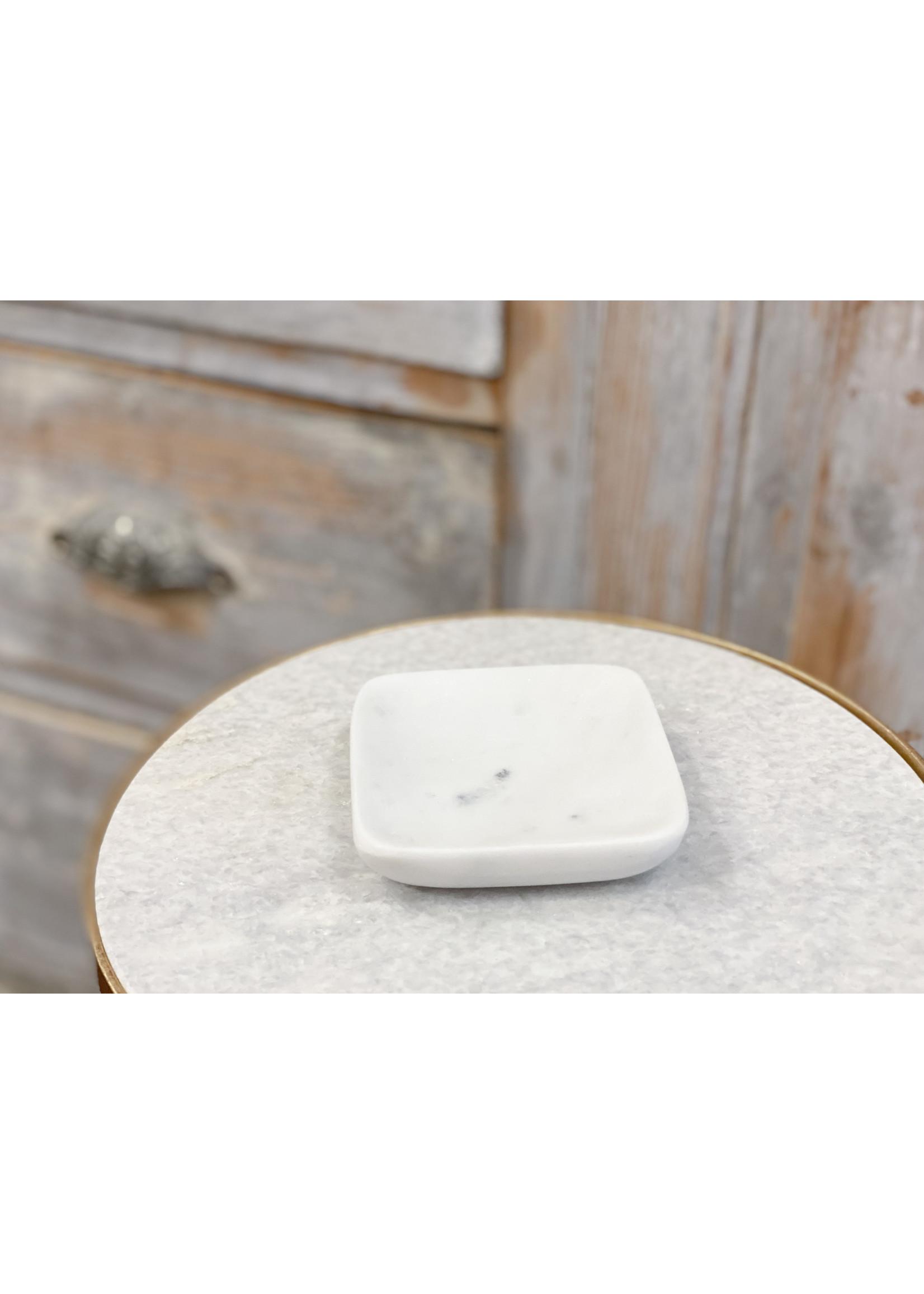 Square Marble Soap Dish