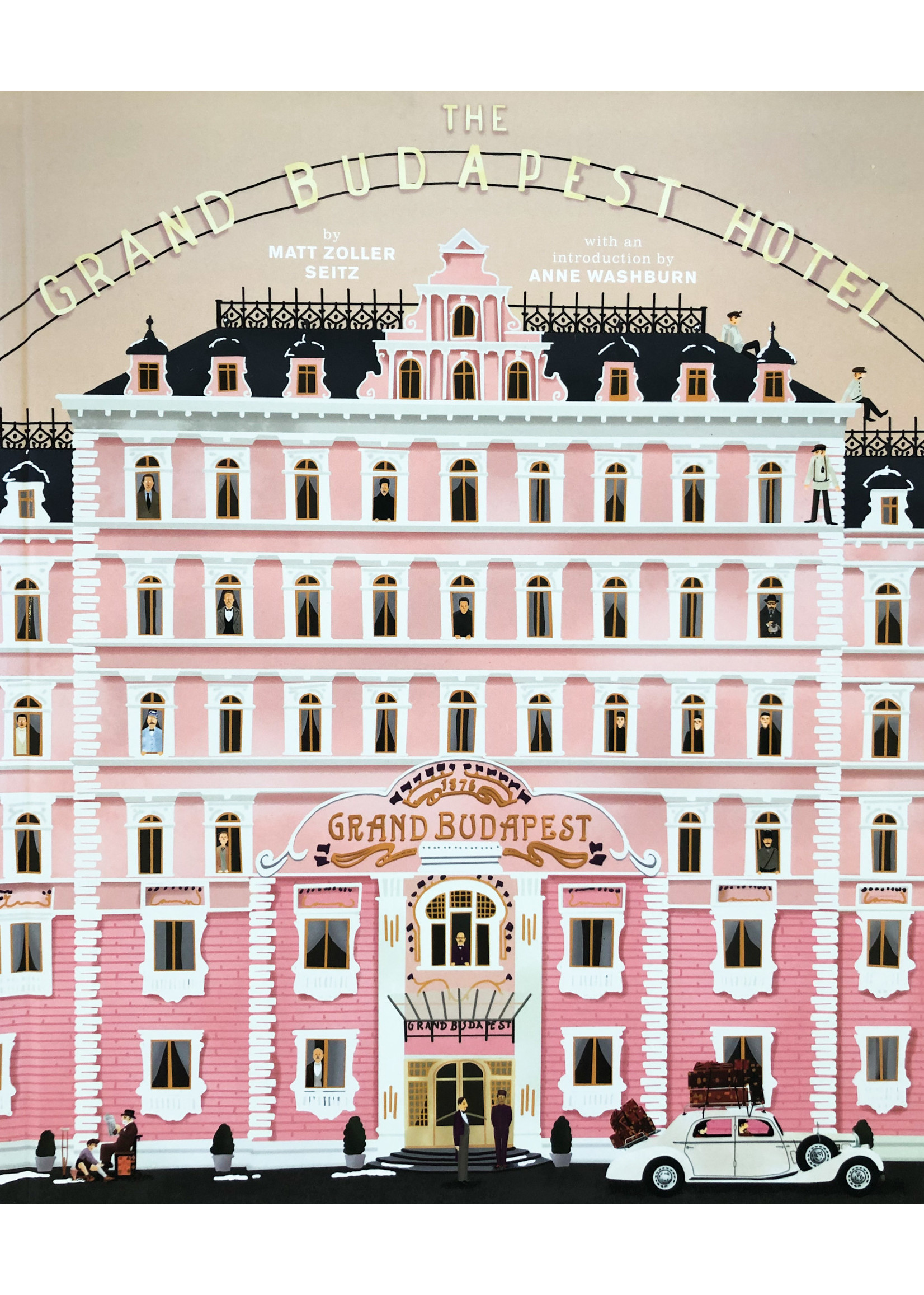 Book - The Wes Anderson Collection: The Grand Budapest Hotel