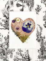 Locally Handmade & Pressed Flower & Birch Cards