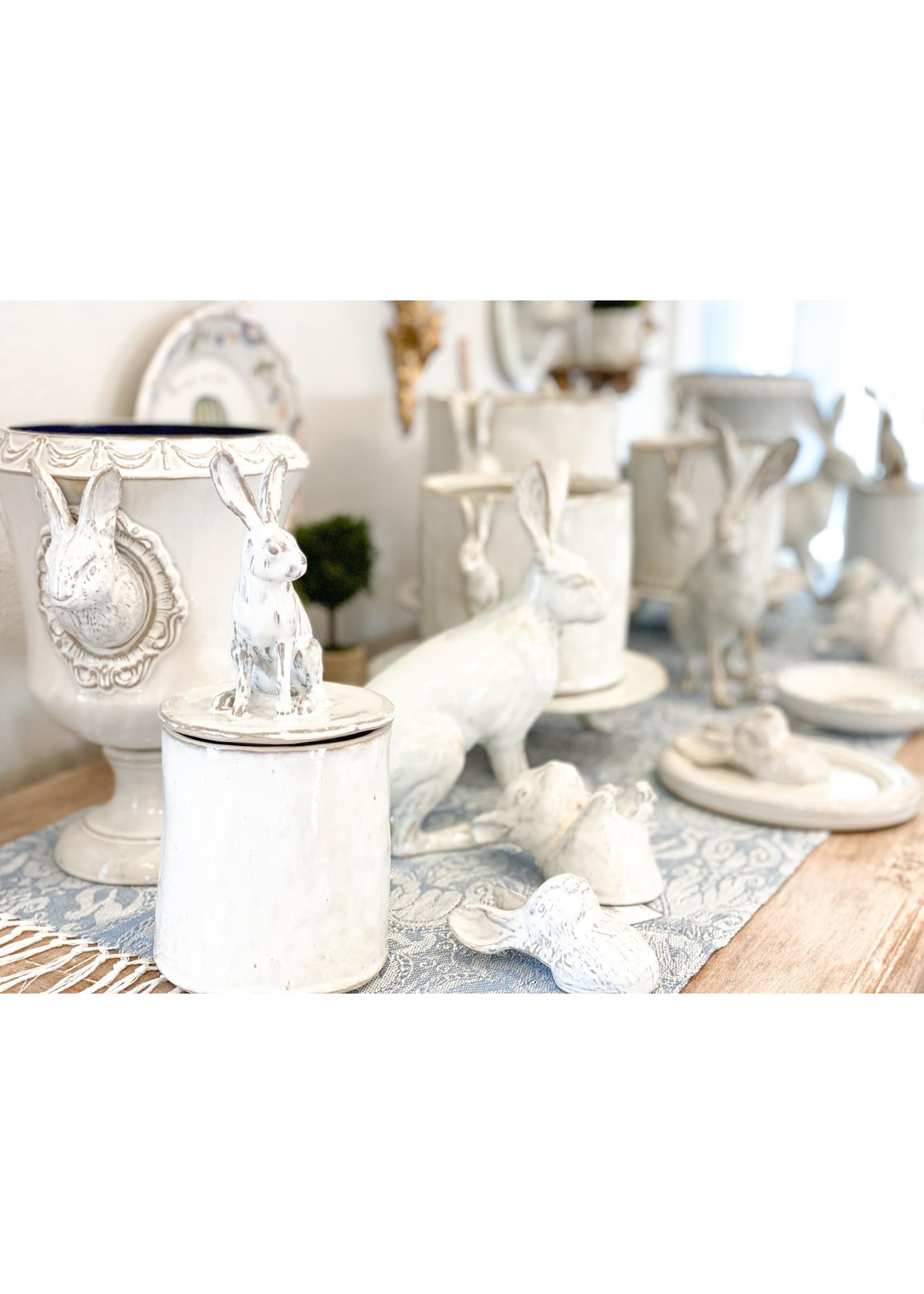 Yarnnakarn Rabbit Medium Pot and Tray