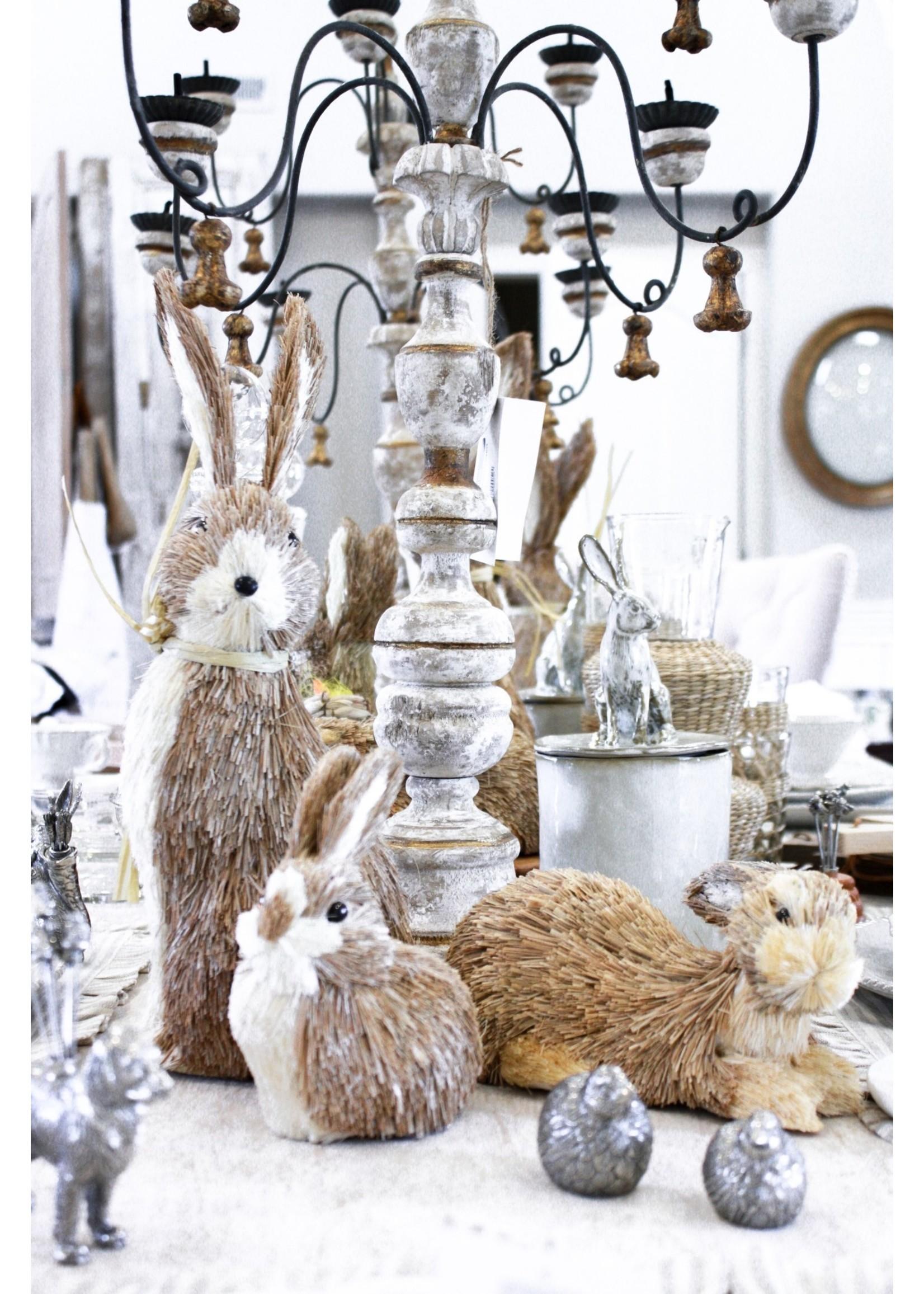 Yarnnakarn Sitting Rabbit Lidded Vessel