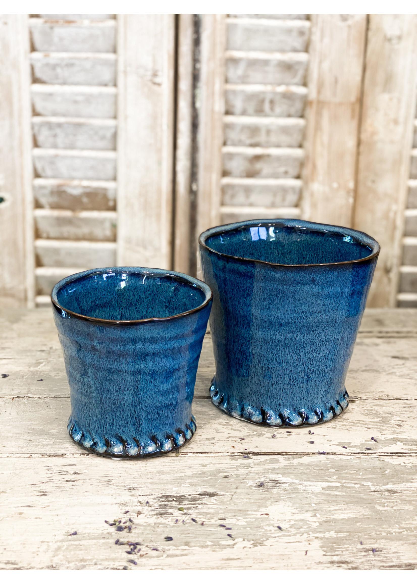 Shelby Pot Blue