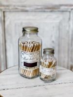 Match Bottle - White/Gold - Mini