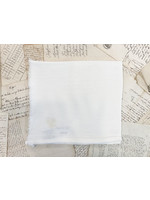 Crown Linen Napkin - Provence Fringe - Off White
