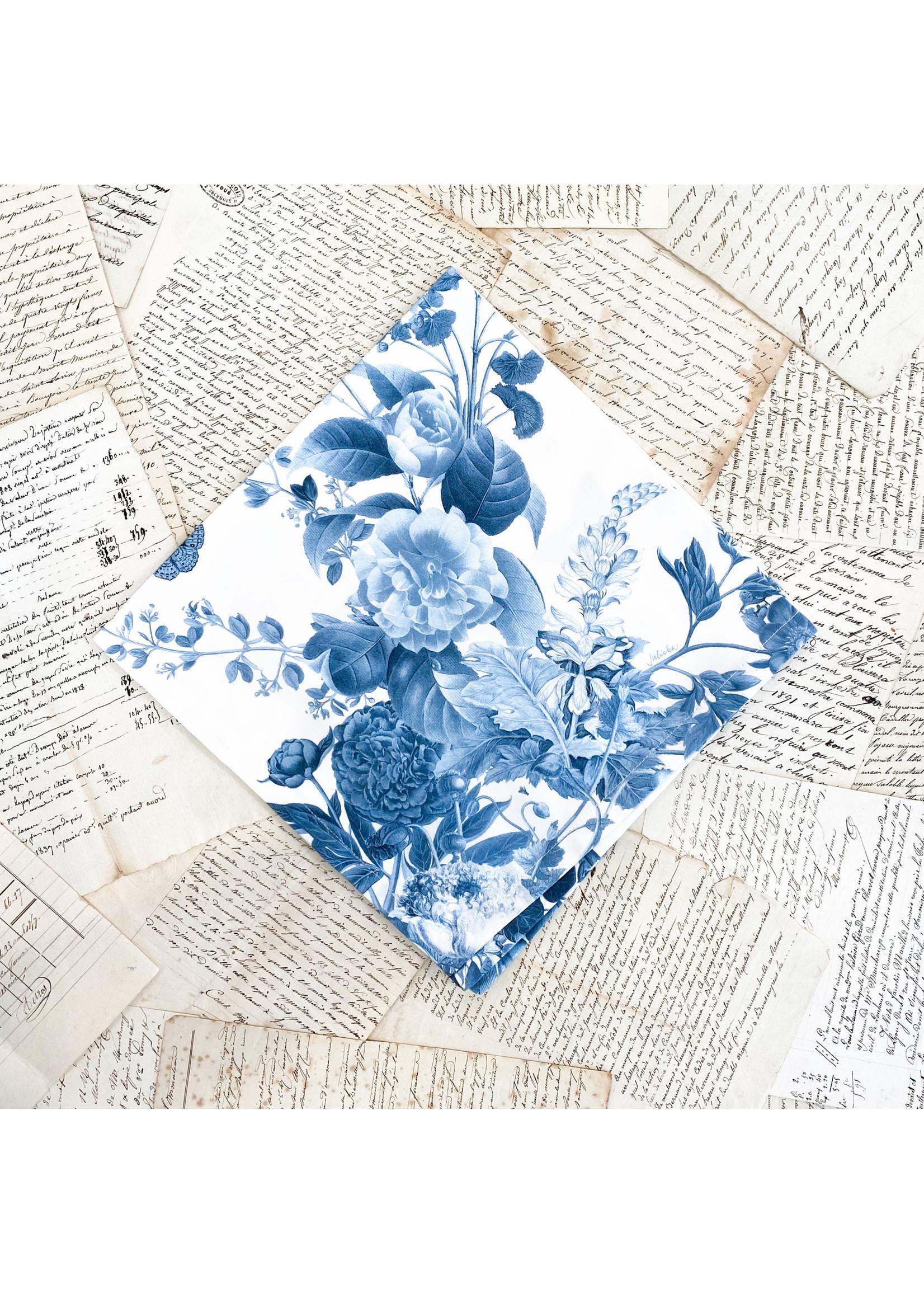 Juliska Napkin - Field of Flowers Chambray