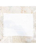 Crown Linen Placemat - Provence Fringe - Off White