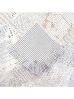 Crown Linen Napkin - Stripe - Ruffle