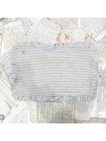 Crown Linen Placemat - Bumble Bee - Stripe - Ruffle
