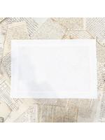 Crown Linen Placemat - Crown - White