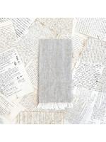 Crown Linen Tea Towel - Tuscan Flax