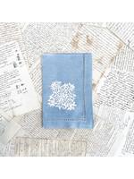 Henry Handwork Napkin - Jardin Estate Blue
