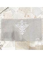 """Crown Linen Runner - Victorian - Flax - 108"""""""