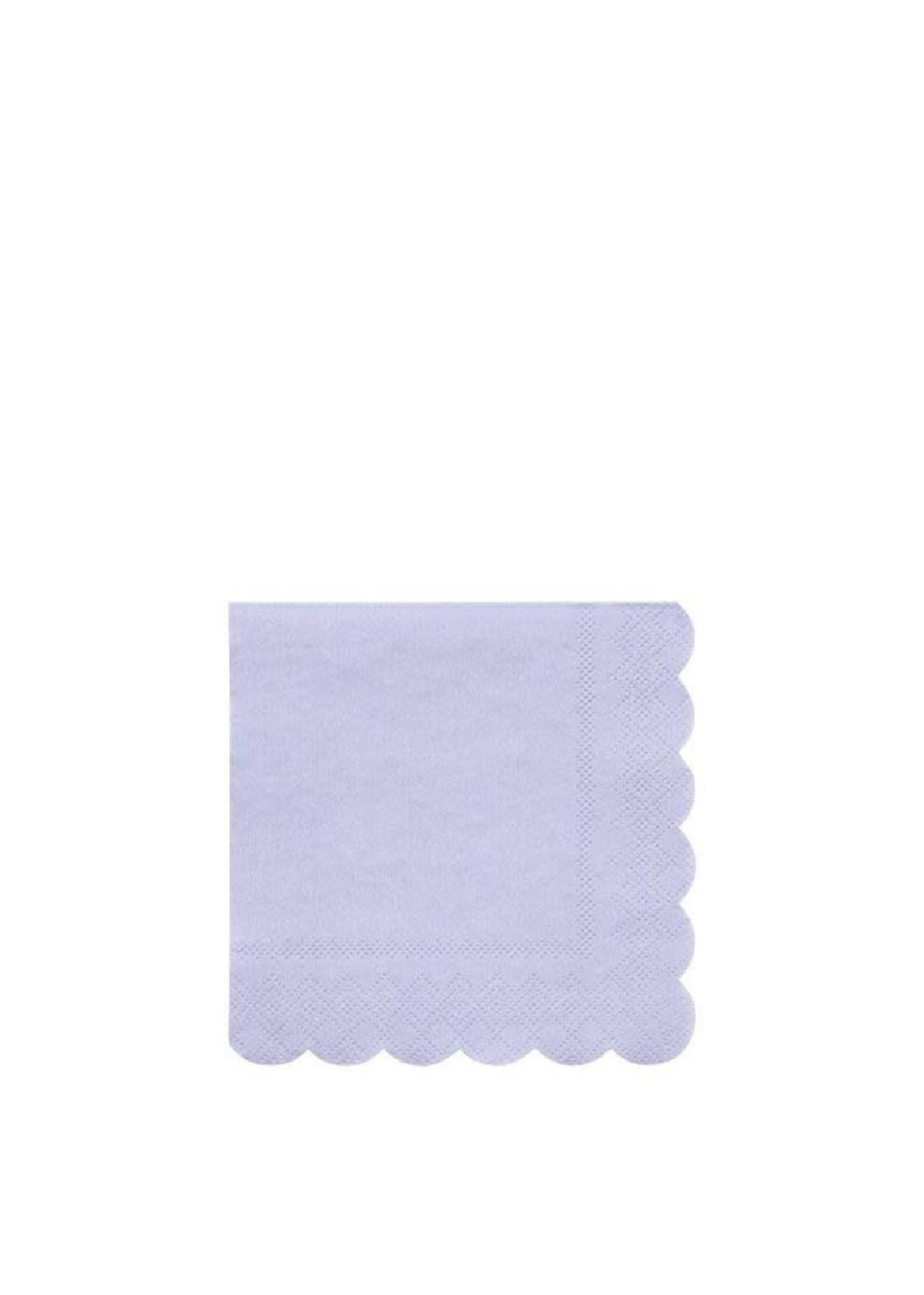 Meri Meri Paper Napkin - Pale Blue Small