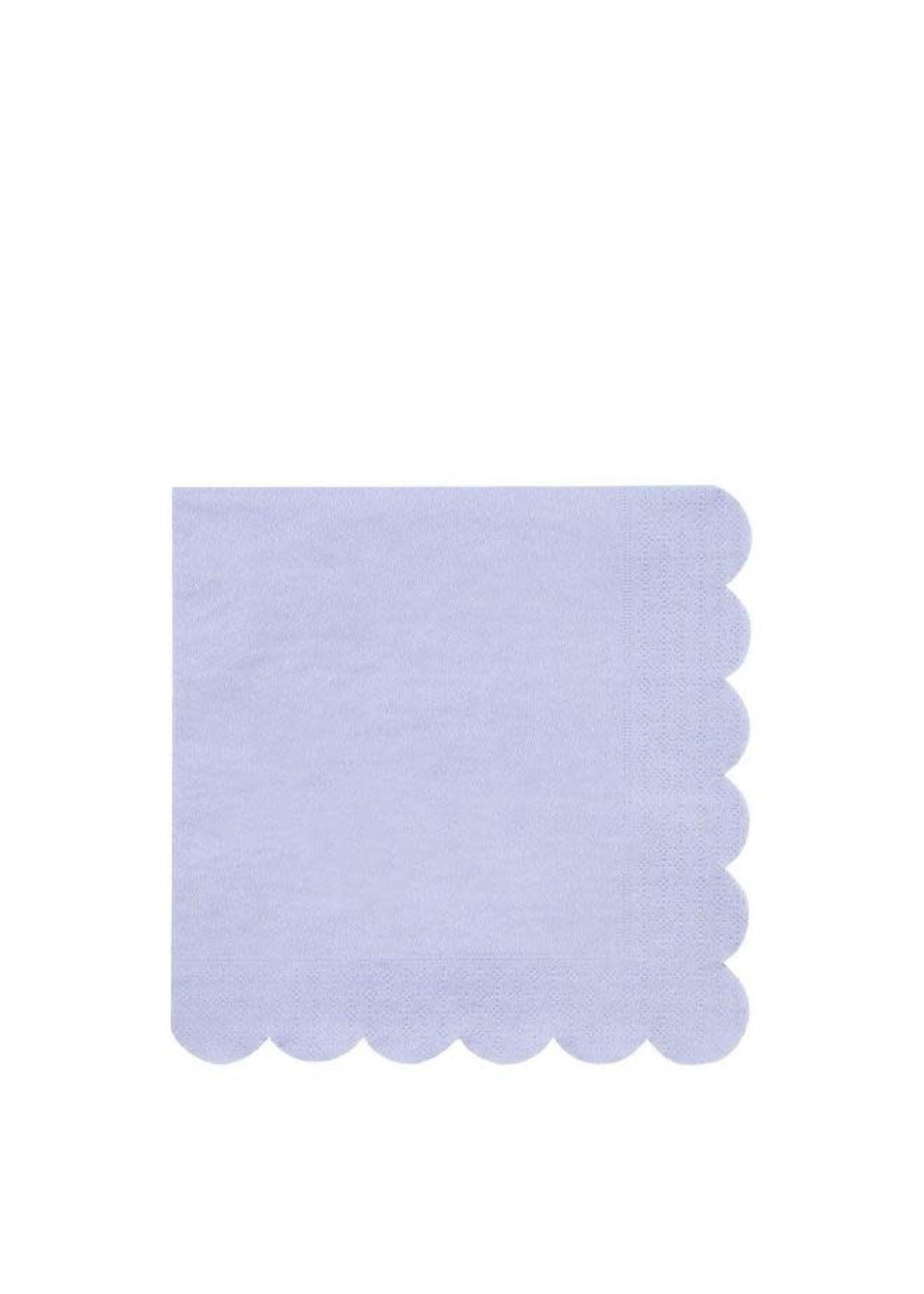 Meri Meri Paper Napkin - Pale Blue Large