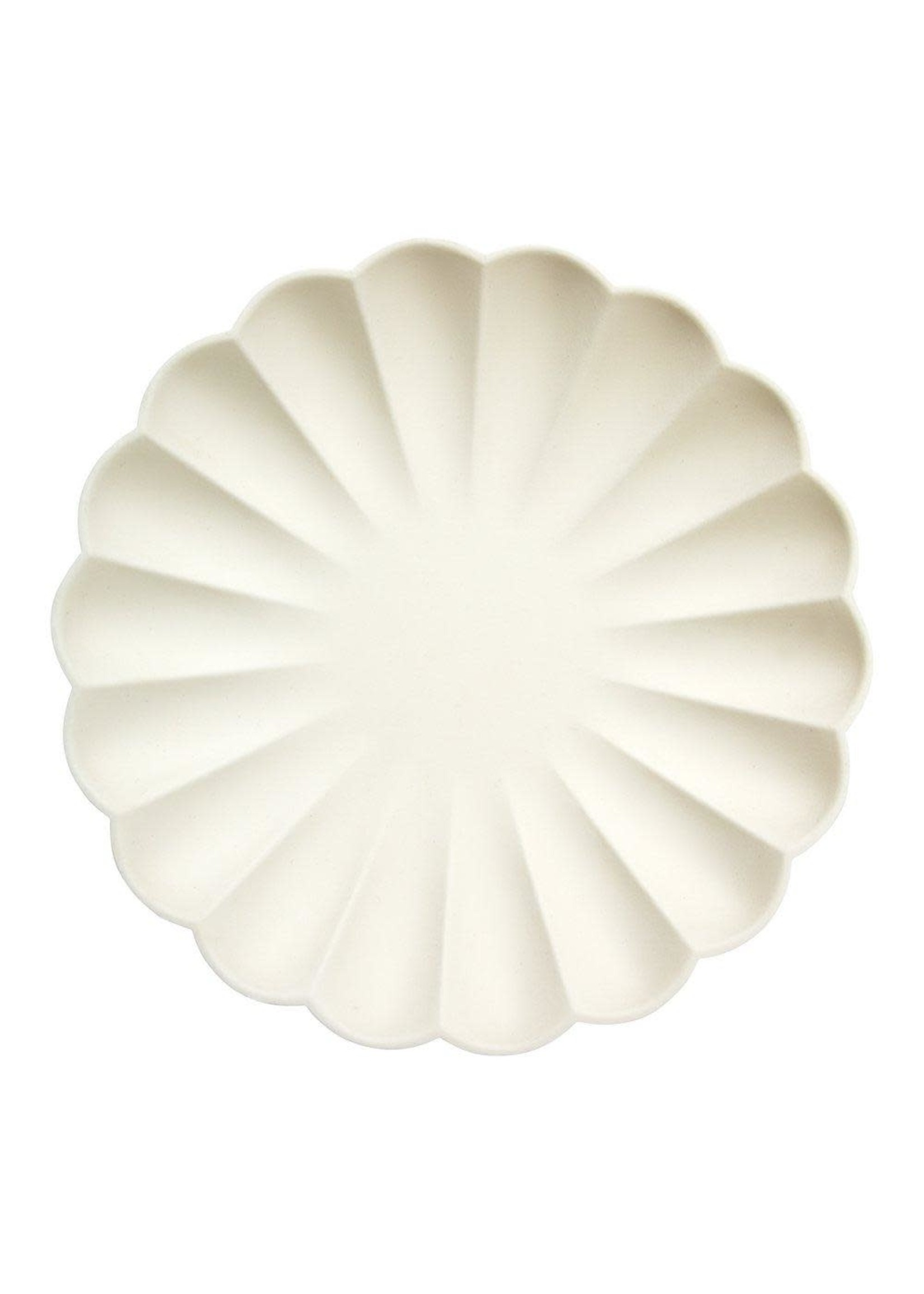 Meri Meri Paper Plates - Cream Large