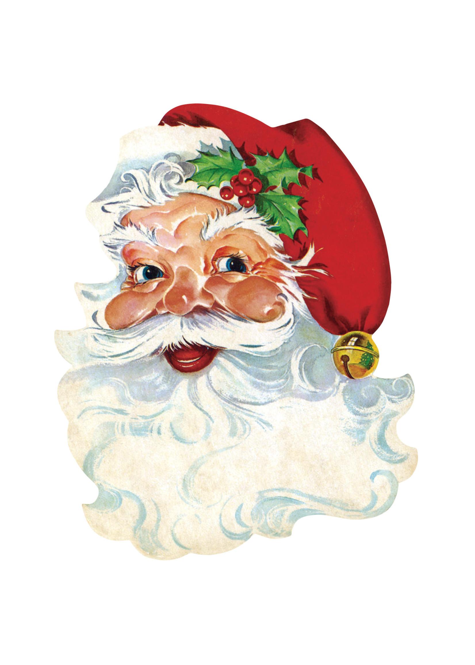 Hester & Cook Paper Placemats - Santa (12 sheets)
