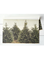 Hester & Cook Paper Placemats - Fir Trees (24 sheets)