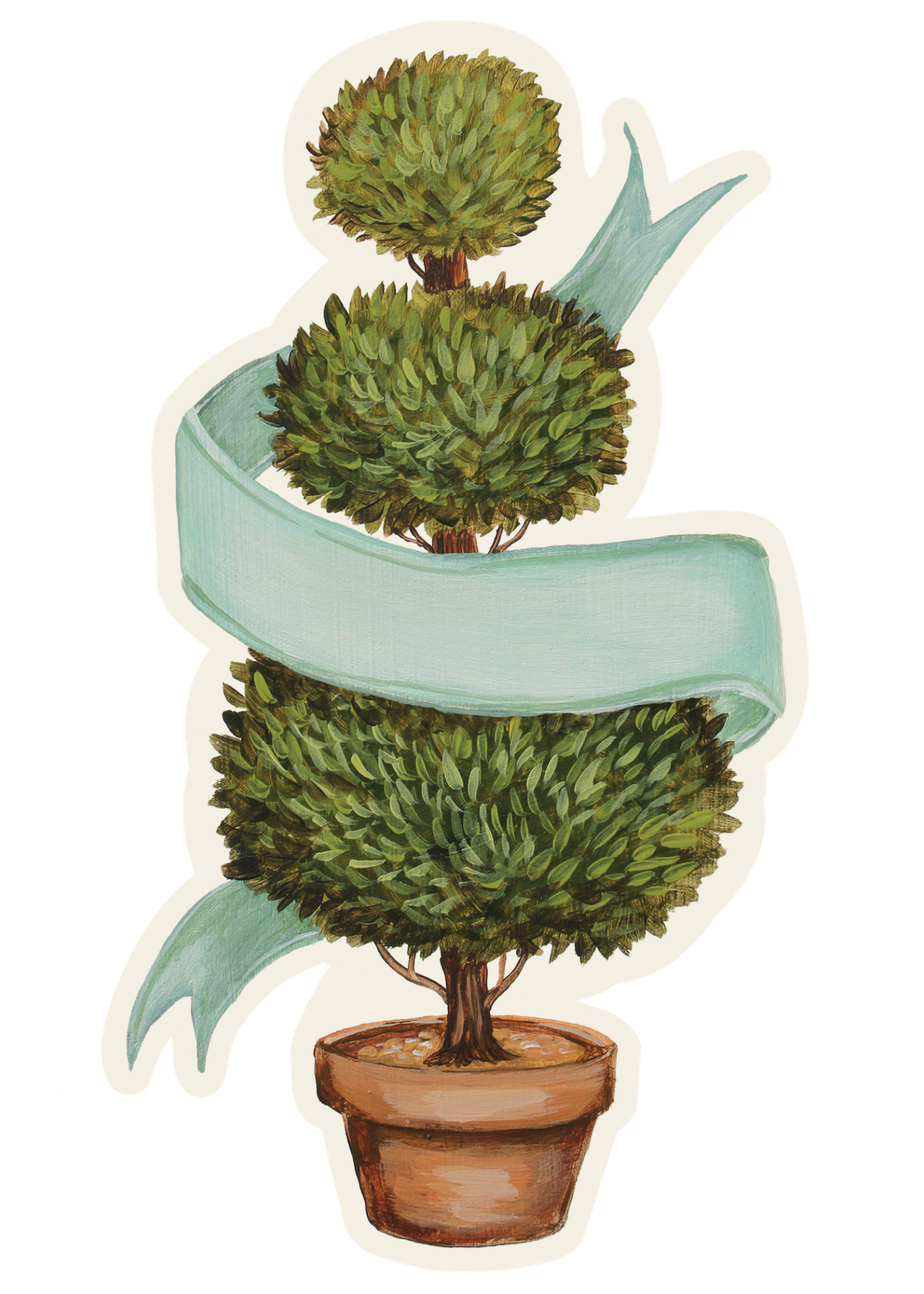 Hester & Cook Table Accents - Topiary (pack of 12)