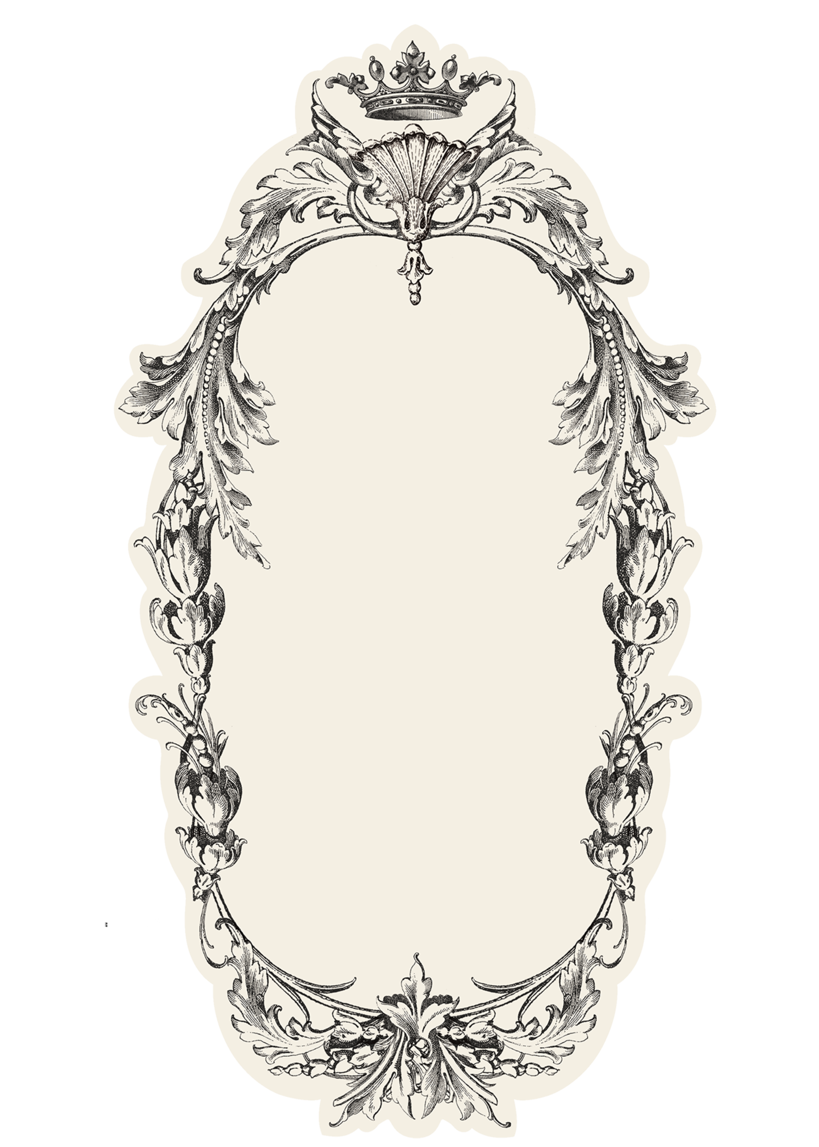 Hester & Cook Table Accents - Flourish Frame (pack of 12)