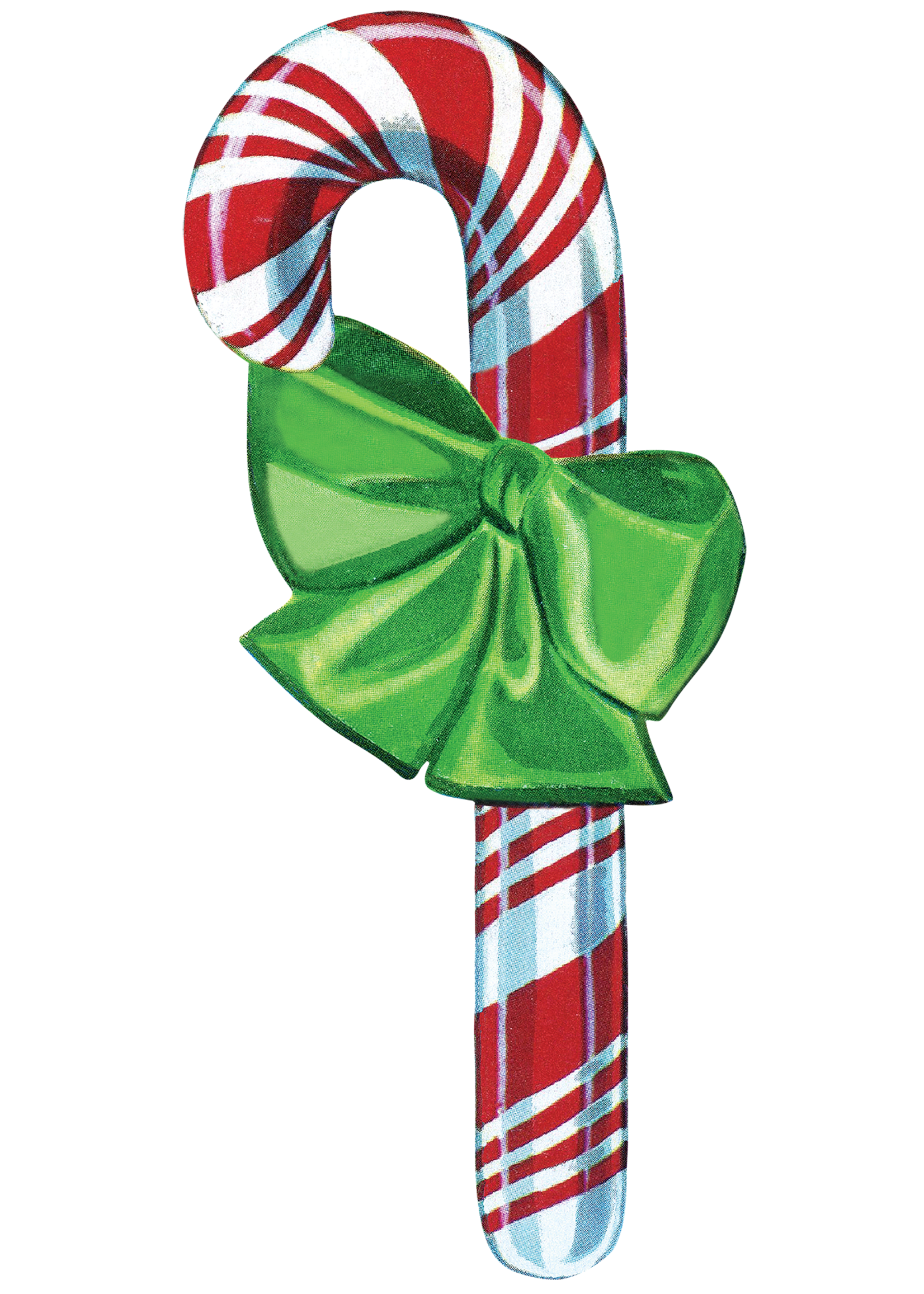 Hester & Cook Table Accents - Candy Cane (pack of 12)