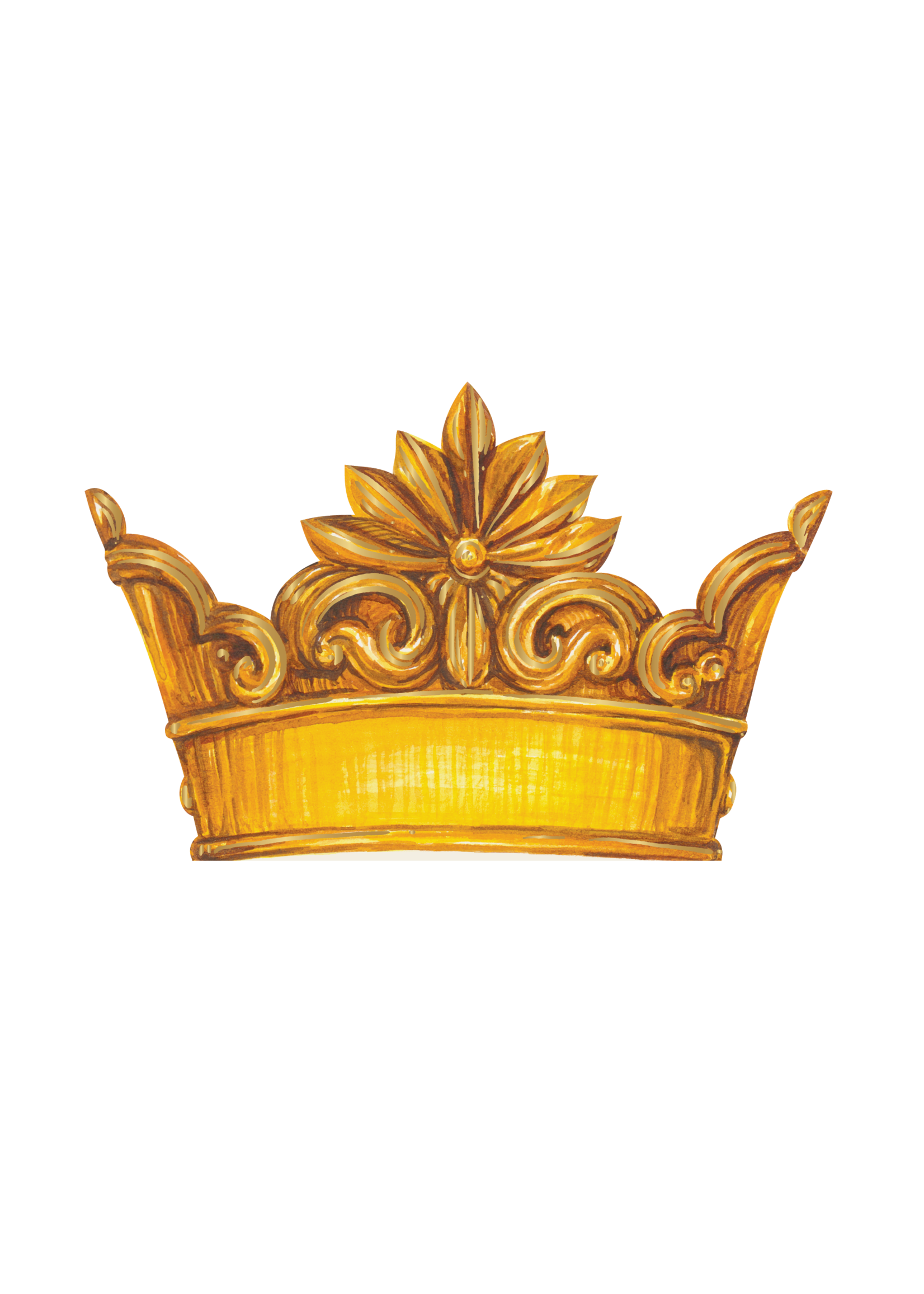 Hester & Cook Place Cards - Crown (pack of 12)