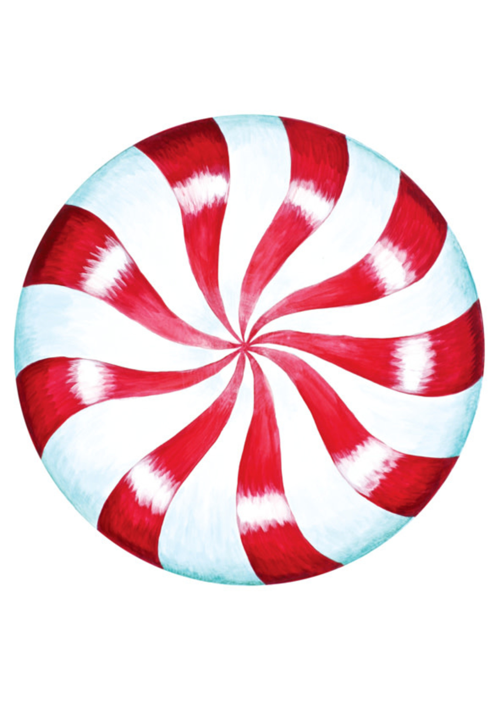 Hester & Cook Paper Placemats - Peppermint (12 sheets)