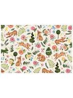 Hester & Cook Paper Placemats - Bunny Garden (24 sheets)