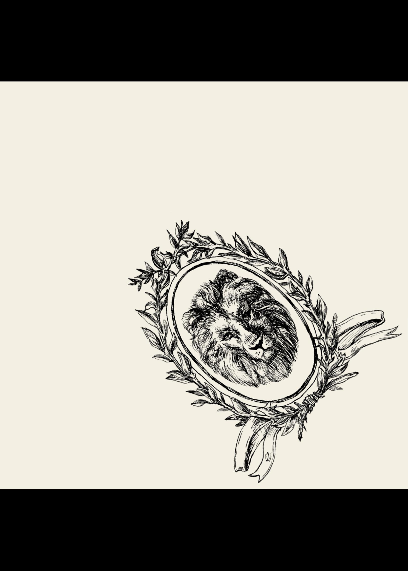 Hester & Cook Paper Cocktail Napkins - Majestic Crest (pack of 20)