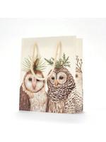 Hester & Cook Gift Bag - Winter Owls