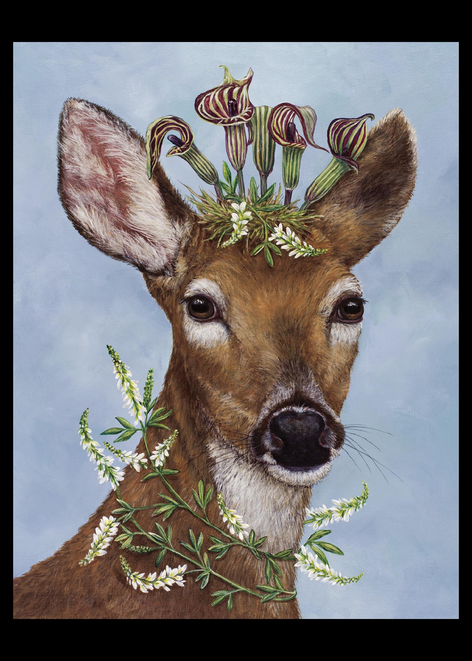 Hester & Cook Card - Woodland Princess