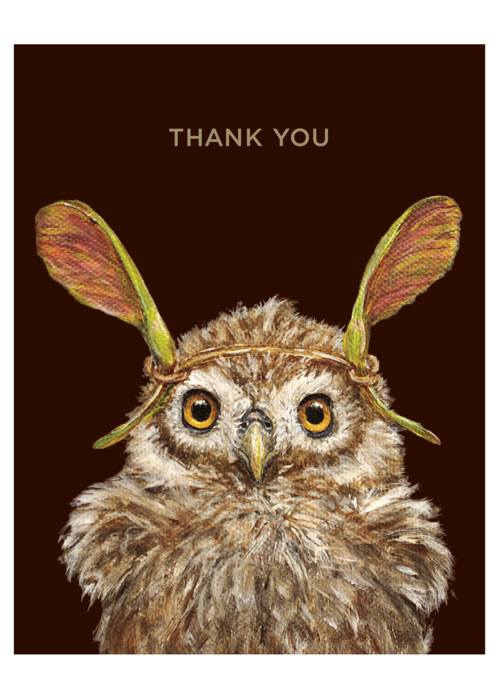 Hester & Cook Card - Thank You Owl