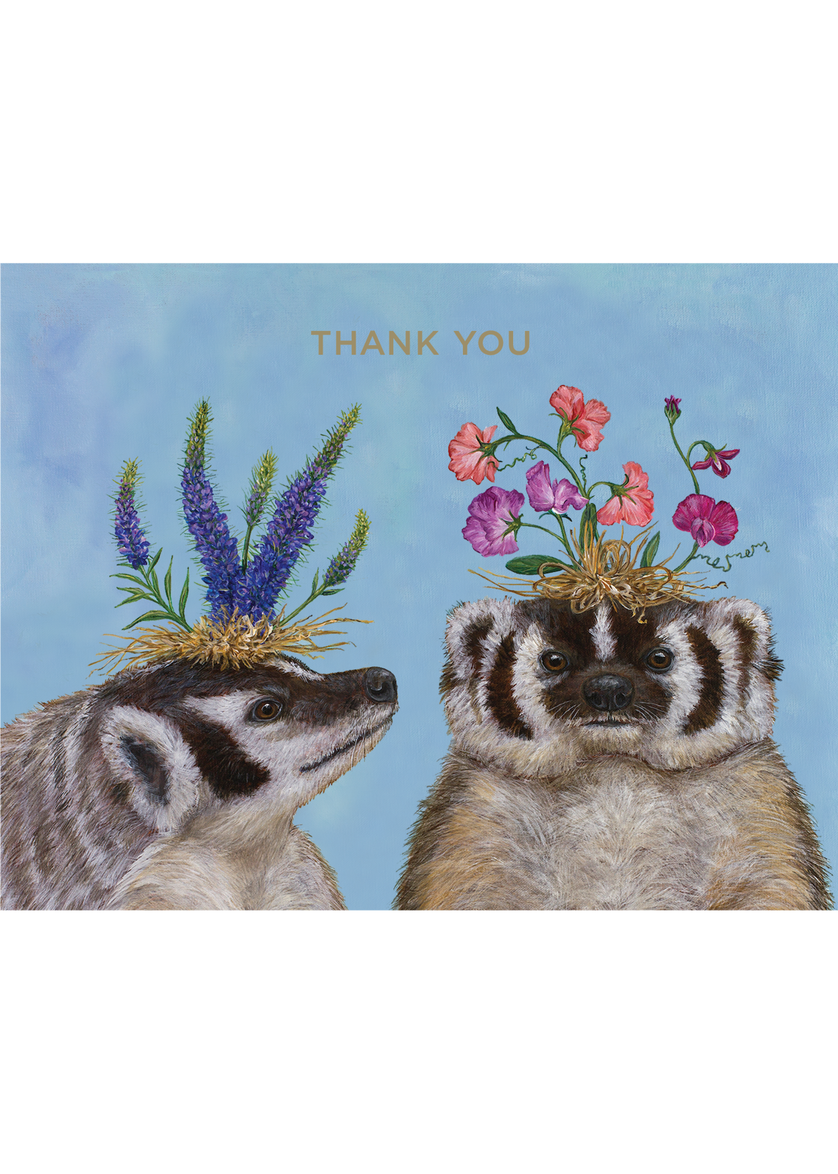 Hester & Cook Card - Thank You Badger Sisters