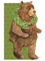 Hester & Cook Card - Holiday Bear
