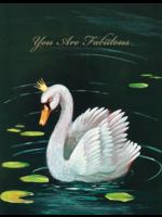 Hester & Cook Card - Fabulous Swan