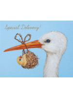 Hester & Cook Card - Baby Stork